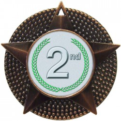 Bronze 2nd Place Medal 48mm