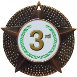 Bronze 3rd Place Medal 48mm