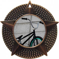 Bronze BMX Medal 48mm