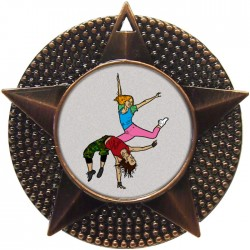 Bronze Street Dance Medal 48mm