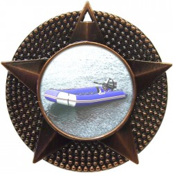 Bronze Rubber Dinghy Medal 48mm