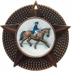Bronze Dressage Medal 48mm