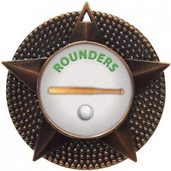Bronze Rounders Medal 48mm