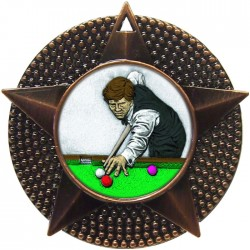 Bronze Snooker Medal 48mm