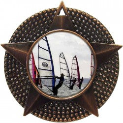 Bronze Windsurfing Medal 48mm