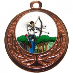 Bronze Archery Medal 40mm