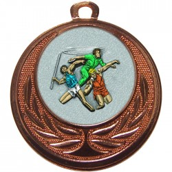 Bronze Javelin Discus Shot Put Medal 40mm