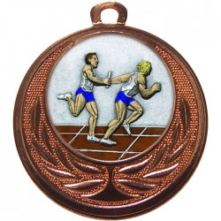 Bronze Relay Medal 40mm