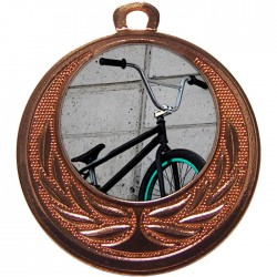 Bronze BMX Medal 40mm