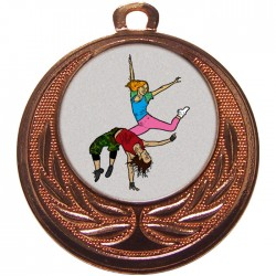 Bronze Street Dance Medal 40mm