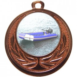 Bronze Rubber Dinghy Medal 40mm