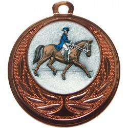 Bronze Dressage Medal 40mm