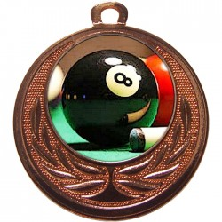 Bronze Pool Medal 40mm