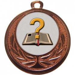 Bronze Quiz Medal 40mm