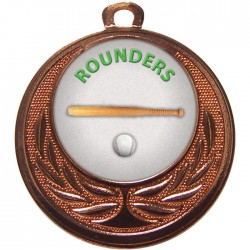 Bronze Rounders Medal 40mm