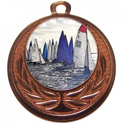 Bronze Sailing Medal 40mm