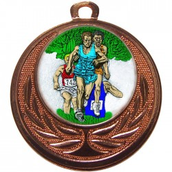 Bronze Cross Country Medal 40mm