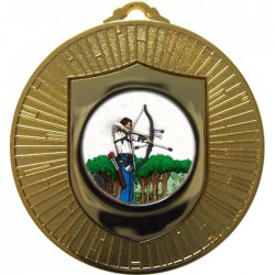 Gold Archery Medal 60mm