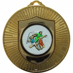 Gold Javelin Discuss Shot Put Medal 60mm