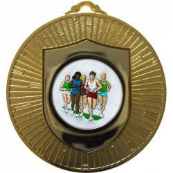 Gold Marathon Medal 60mm