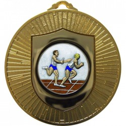 Gold Relay Medal 60mm