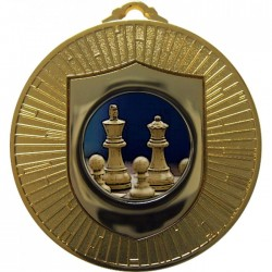 Gold Chess Medal 60mm