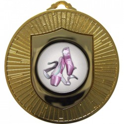 Gold Ballet Medal 60mm