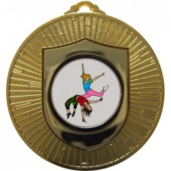 Gold Street Dance Medal 60mm
