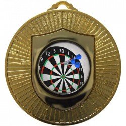 Gold Darts Medal 60mm