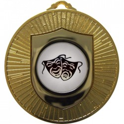 Gold Drama Medal 60mm