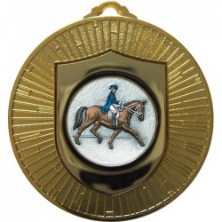 Gold Dressage Medal 60mm