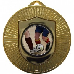 Gold Futsal Medal 60mm