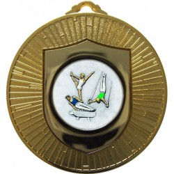Gold Male Gymnastics Medal 60mm