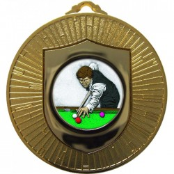 Gold Snooker Medal 60mm
