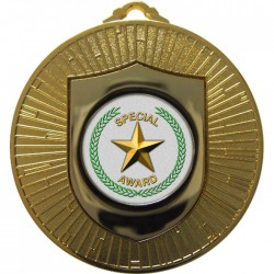 Gold Special Star Medal 60mm