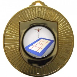 Gold Trampolining Medal 60mm