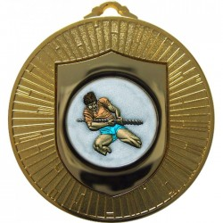 Gold Tug of War Medal 60mm
