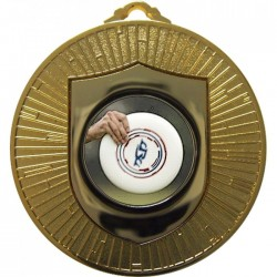 Gold Frisbee Medal 60mm
