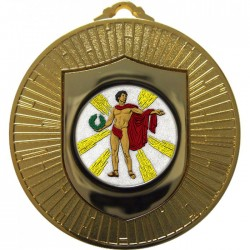 Gold Victory Male Medal 60mm
