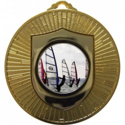 Gold Windsurfing Medal 60mm