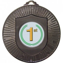 Silver 1st Place Medal 60mm