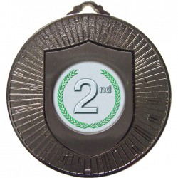 Silver 2nd Place Medal 60mm