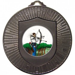 Silver Archery Medal 60mm
