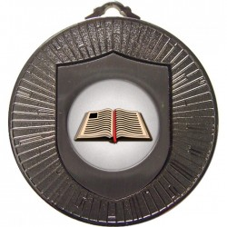 Silver Book Medal 60mm