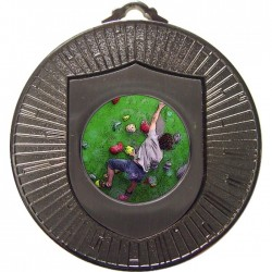 Silver Climbing Medal 60mm