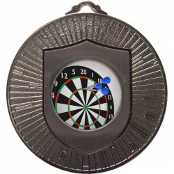 Silver Darts Medal 60mm