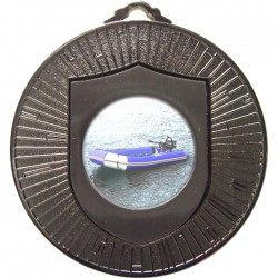 Silver Rubber Dinghy Medal 60mm