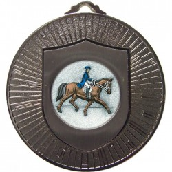 Silver Dressage Medal 60mm