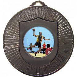Silver Handball Medal 60mm