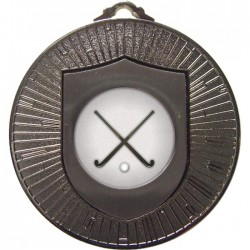 Silver Hockey Medal 60mm